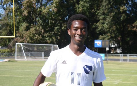Soccer player kicks down school record
