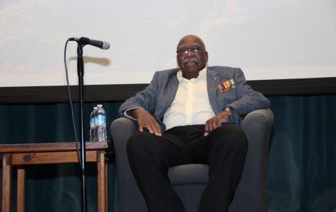 Civil rights activist relates experiences during visit