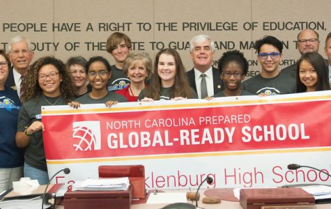 East Meck honored as first Global ready school in North Carolina