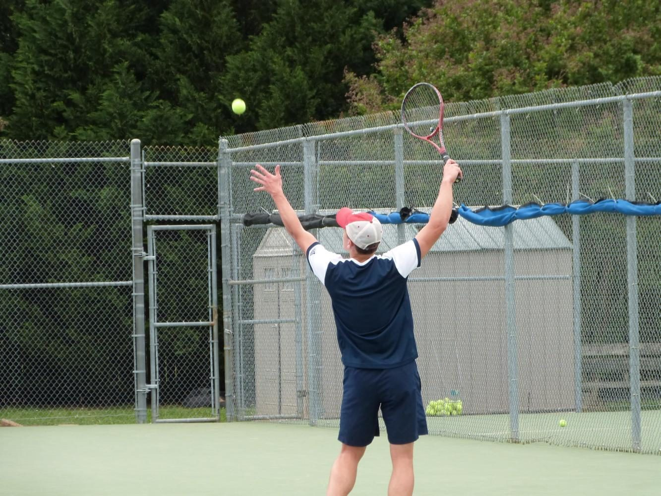 Tennis makes racket with winning season