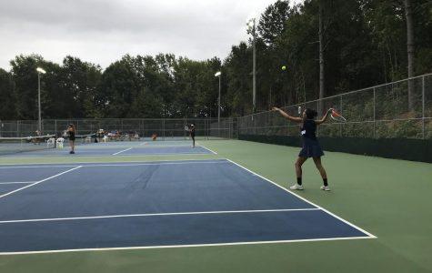Girls tennis takes win over Butler