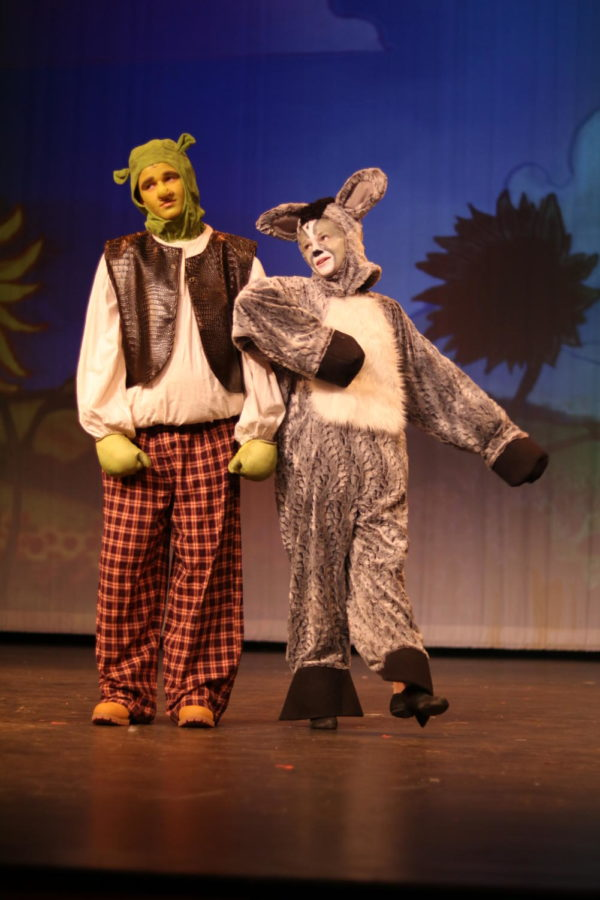Shrek+%28Fialko%29+and+Donkey+%28Carroll%29+sing+%22Travel+Song.%22