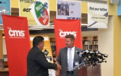CMS Superintendent gives formal address at East Meck