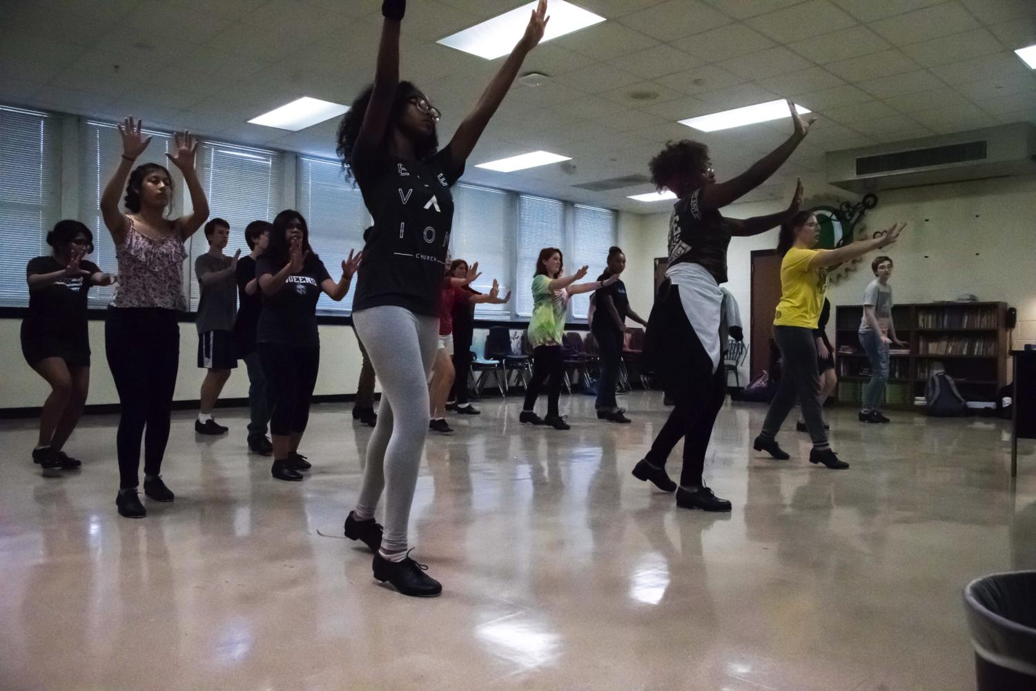 Students take tap dancing classes after school