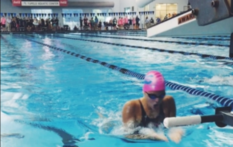 Hohm dives into success with swimming