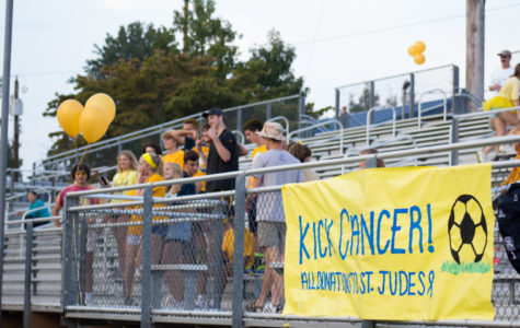Annual kick cancer event raises money to combat childhood cancer