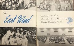 Front page of the first addition of the East Wind yearbook, 1951